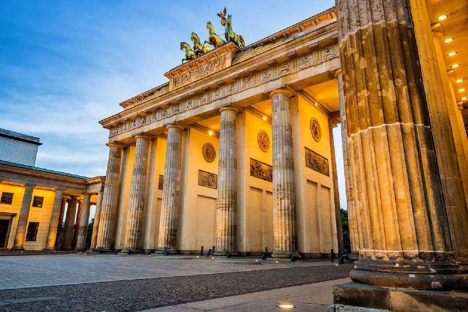 La porte de Brandebourg , Les 5 passages de la porte , Allemagne