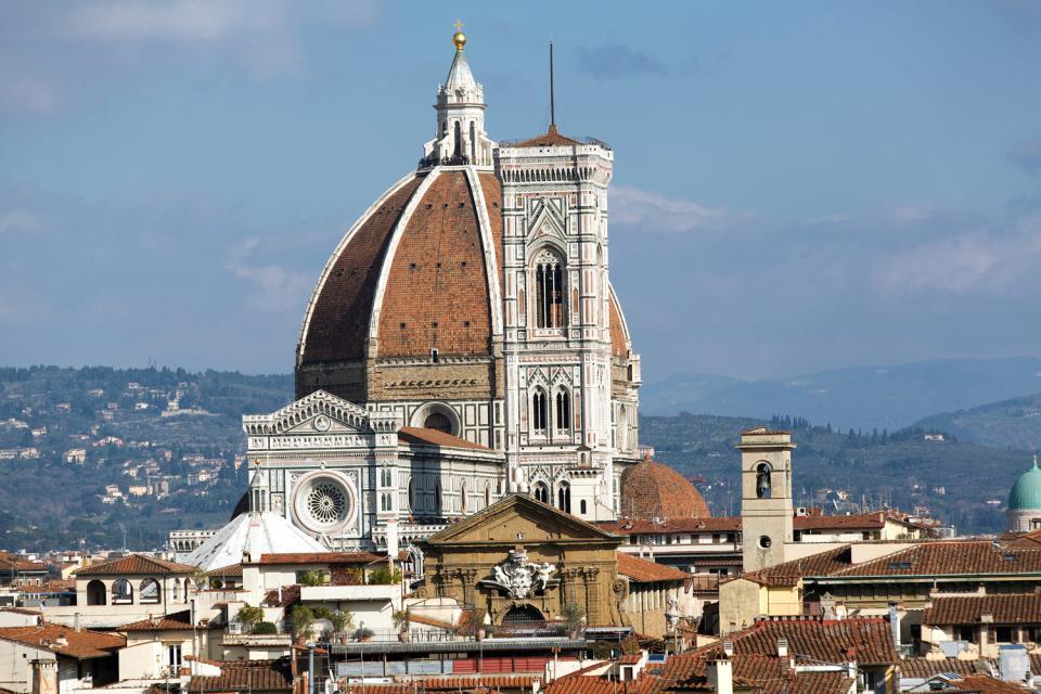 il campanile di giotto - firenze - toscana - italia - Soggiorno Di Giotto A Napoli 2