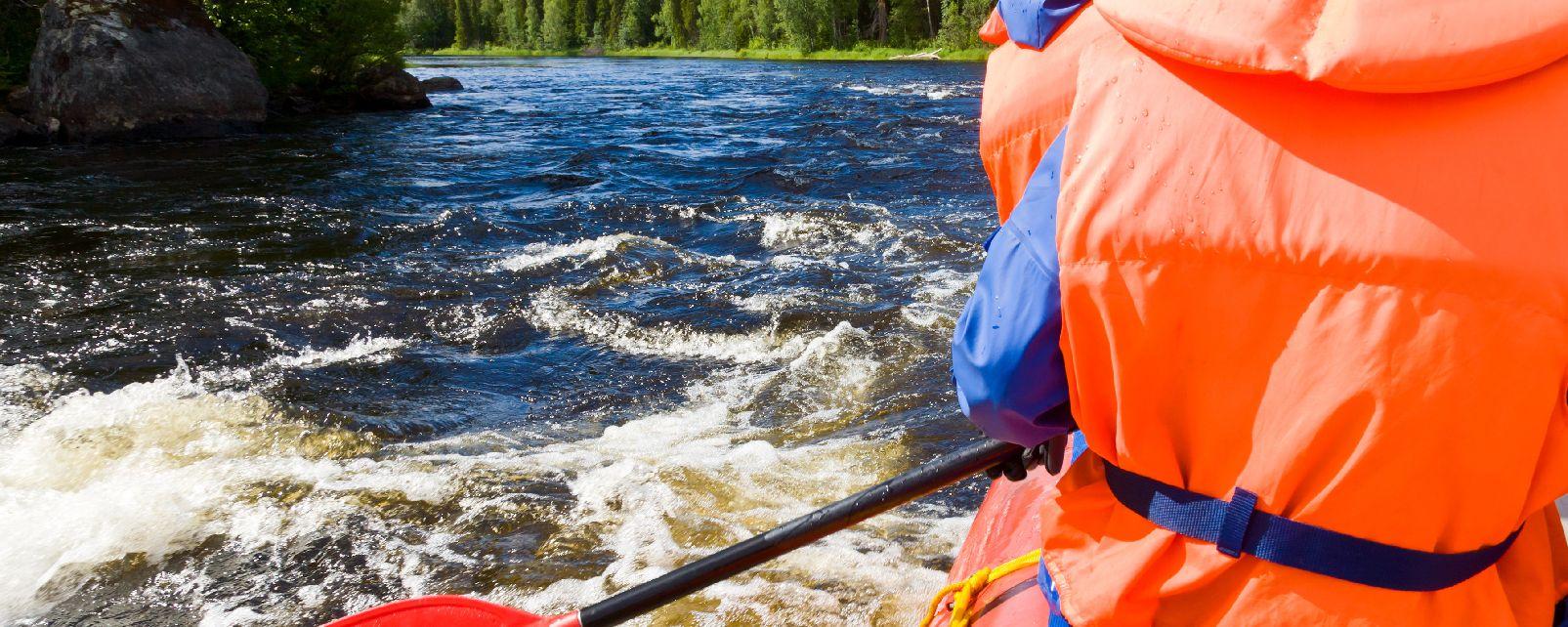Randonnée et rafting , Canada
