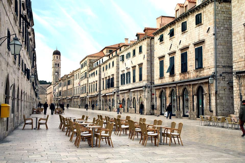 La vieille ville de Dubrovnik , Croatie