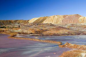 Les mines de Riotinto, Les paysages, Huelva, Andalousie