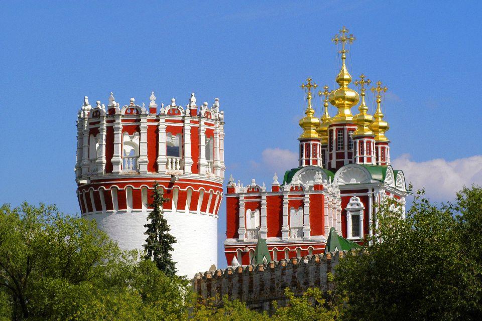 Le couvent de Novodiévitchi , Un agréable lieu de promenade , Russie