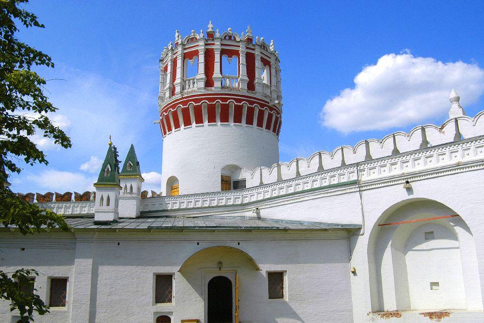 Le couvent de Novodiévitchi , Le cimetière du couvent , Russie