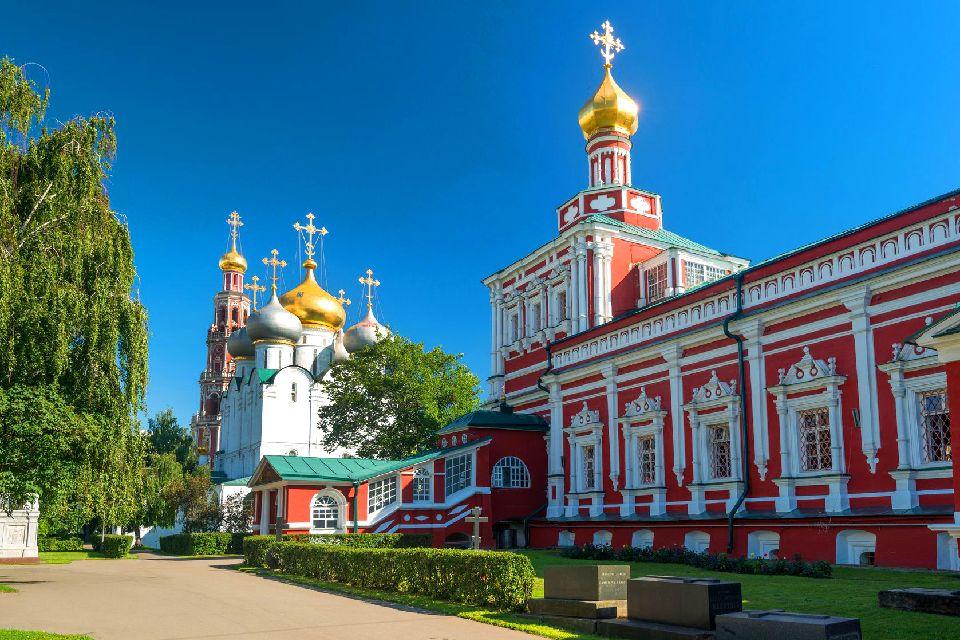 Le couvent de Novodiévitchi , Le couvent des Vierges , Russie