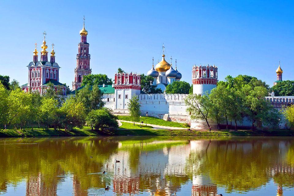 Le couvent de Novodiévitchi , Russie
