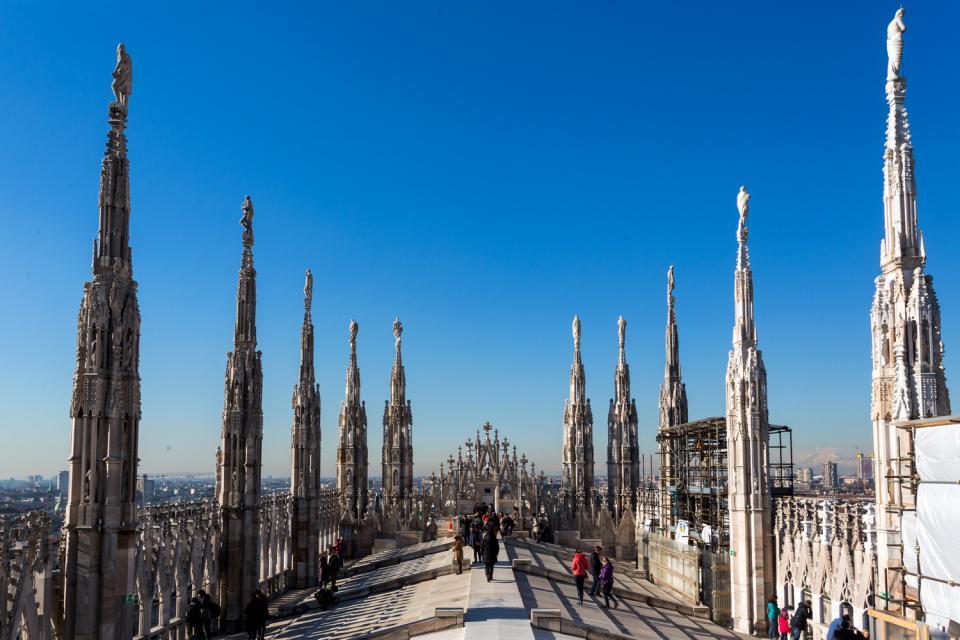 Le duomo de Milan , Italie