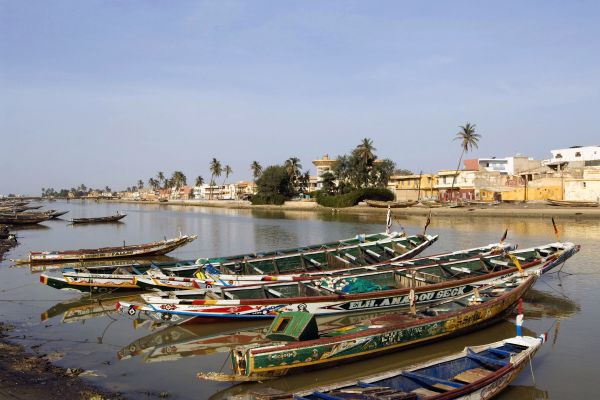 Les côtes, afrique, sénégal, saint-louis, st louis, capitale, ville, fleuve, pêche, pirogue