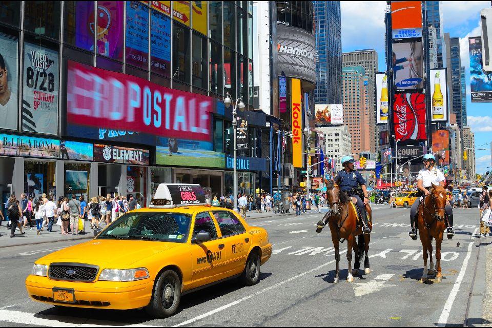 Times Square , Une circulation parfois difficile , Etats-Unis