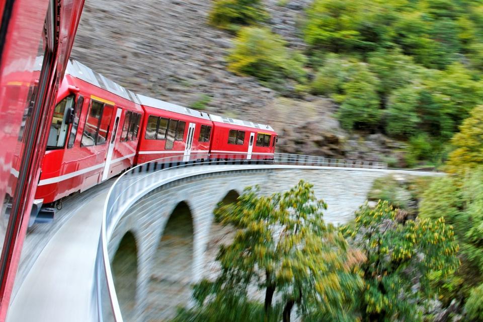 Le Glacier Express , Suisse