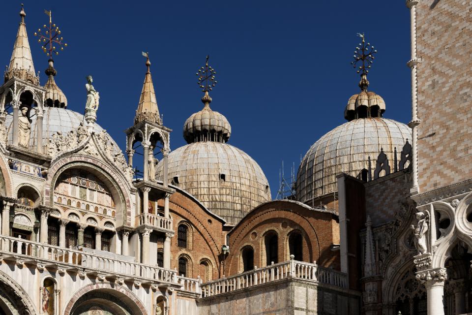 La Basilique Saint-Marc , Italie