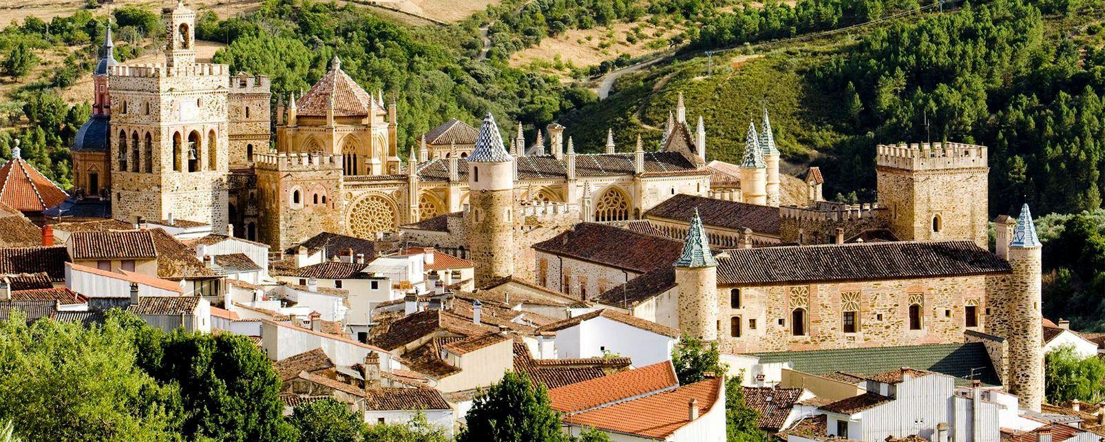 Le monastère de Guadalupe , Espagne
