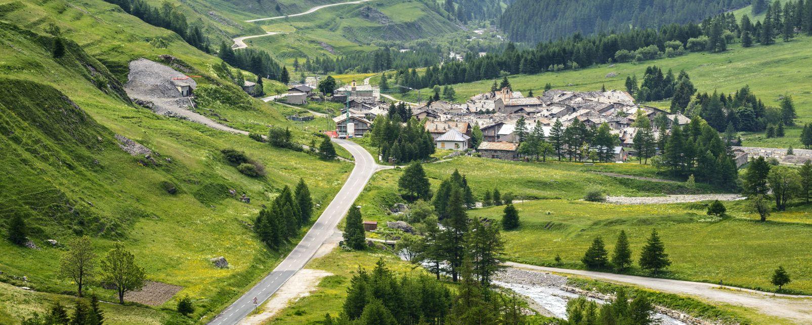 Les paysages, Colle dell'Agnello, Val Varaita, Chianale, Coni, Europe, Italie, Piemont, alpes, montagne
