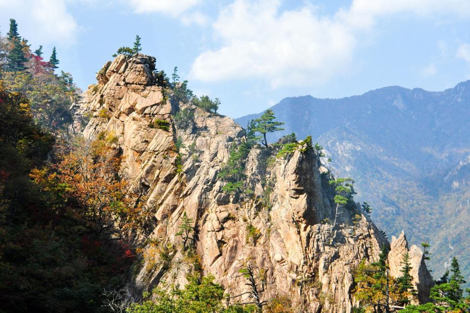 I parchi nazionali , Il Monte Wolchulsan , Corea del Sud