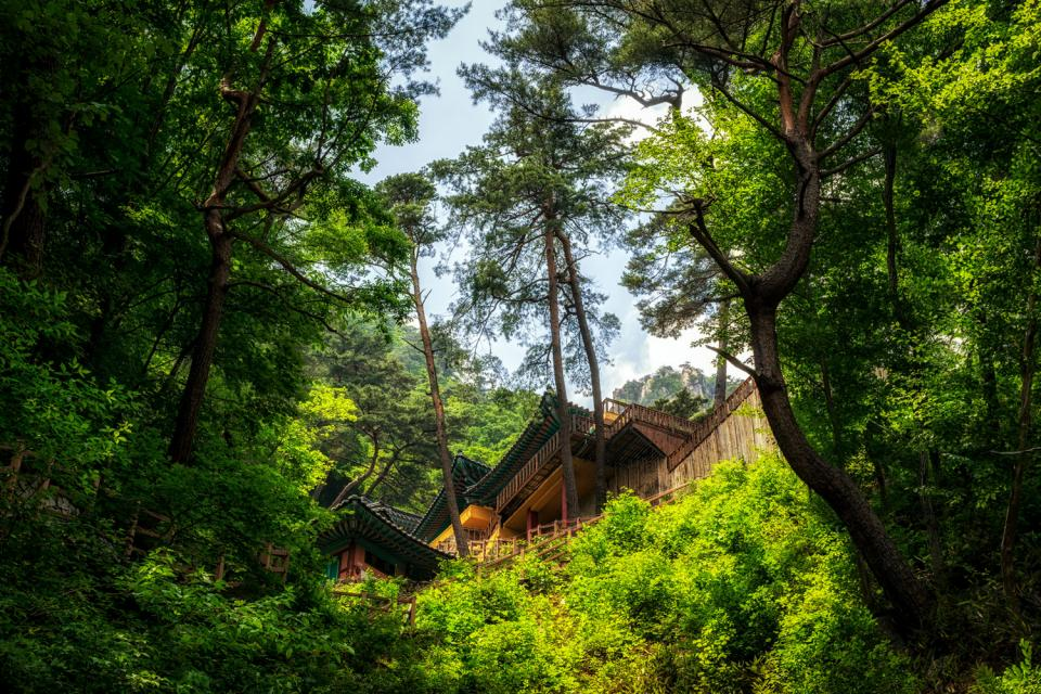Los parques nacionales , Corea del Sur