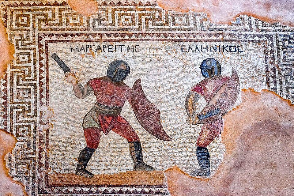 Kourion , La Maison des gladiateurs , Chypre