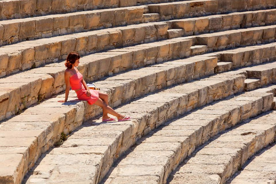 Kourion , Spectaculaire Kourion , Chypre