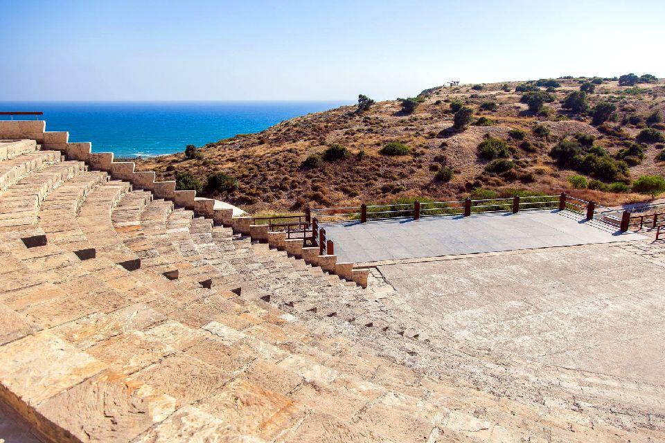 Kourion , L'amphithéâtre de Kourion , Chypre