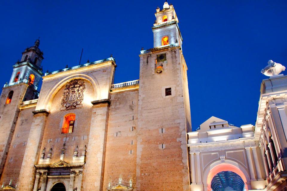 Vieille ville de Mérida , Mexique