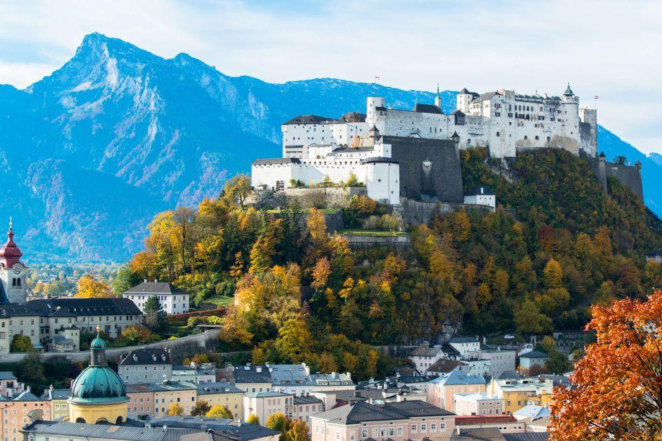Les arts et la culture, salzbourg, autriche, europe, Hohensalzburg, forteresse, rivière