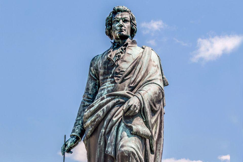 Les arts et la culture, salzbourg, autriche, europe, mozart, mozartplatz, statue, art, sculpture