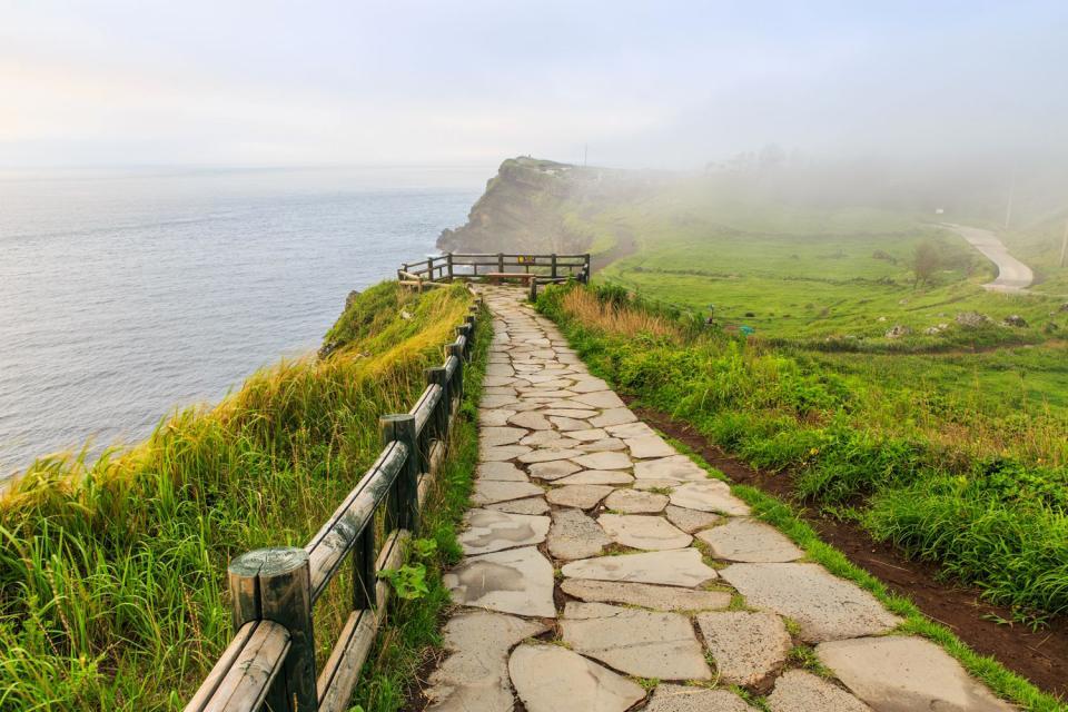 La costa orientale , Corea del Sud