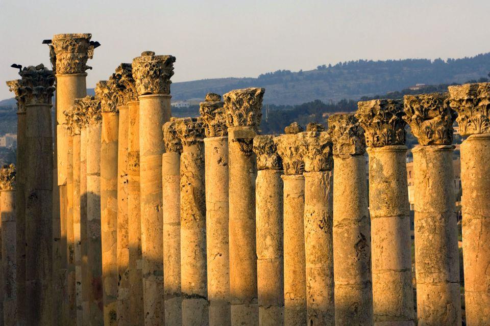 Les monuments, Jerash, jordanie, moyen-age, ruines, archéologie, monument, culture, histoire