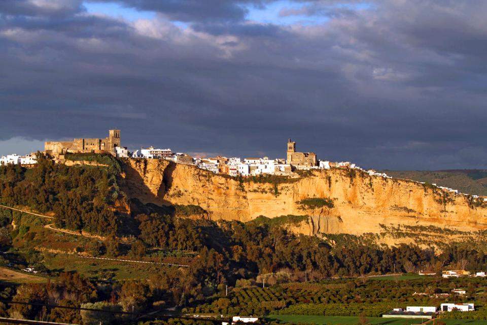 Arcos de la Frontera , L'un des plus beaux villages blancs andalou , Espagne