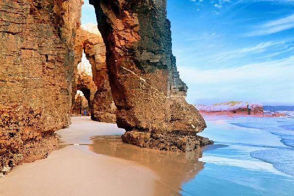 La plage des cathédrales , Espagne