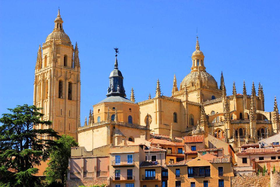 La cathédrale de Ségovie , Espagne