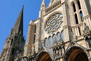La cathédrale de Chartres , France