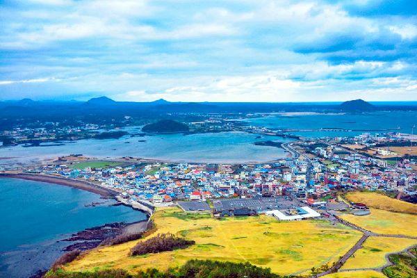 La isla de Jeju , Una zona turística , Corea del Sur