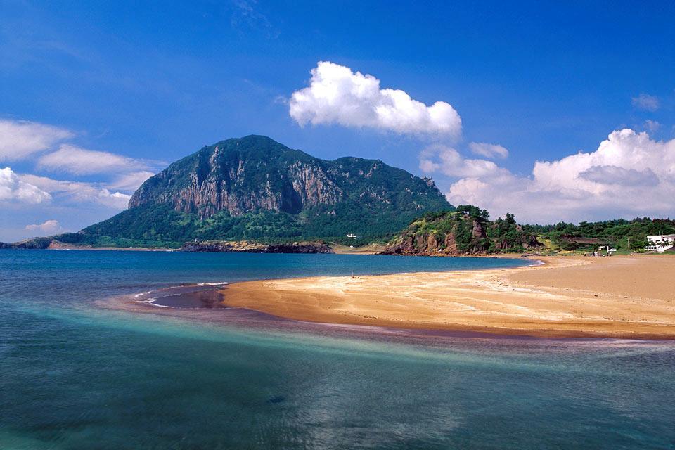 L'île de Jeju , Corée du Sud