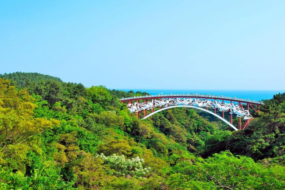 La isla de Jeju , Los oreums de Jeju , Corea del Sur