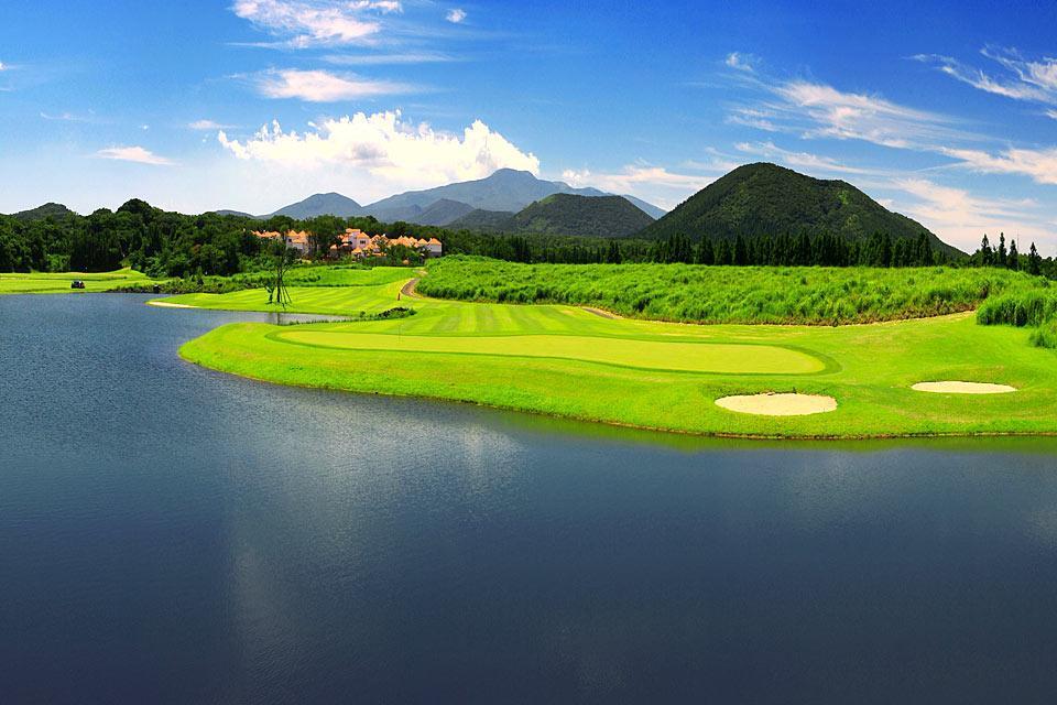 L'île de Jeju , Un spot de golf , Corée du Sud