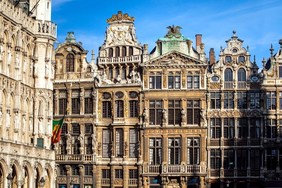 La Grand Place de Bruxelles , Belgique