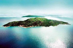L'île de Félicité , Seychelles