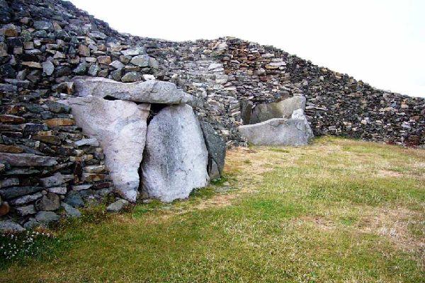 Les sites mégalithiques près de Pont-Aven , France