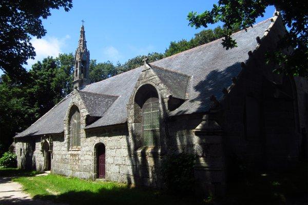 La chapelle de Trémalo , France