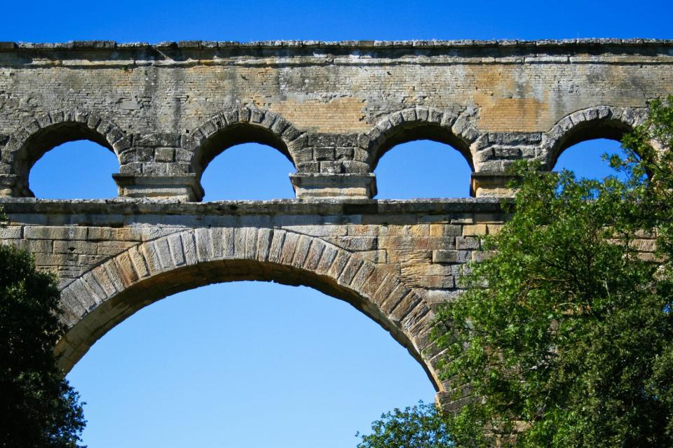 Le pont du Gard , France