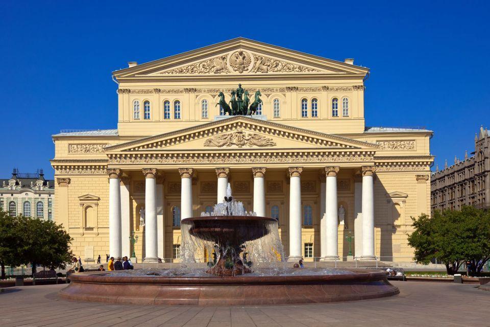 Le Bolchoï : le Grand Théâtre, Les arts et la culture, Moscou, Moscou et le centre de la Russie