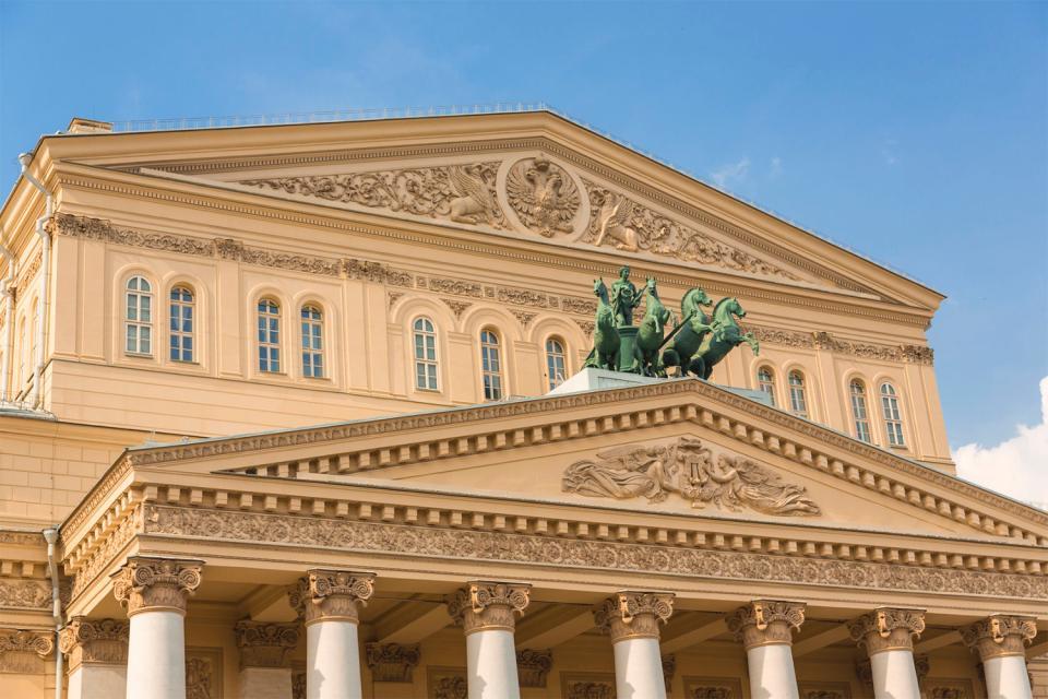 Le Bolchoï , le Grand Théâtre , Russie