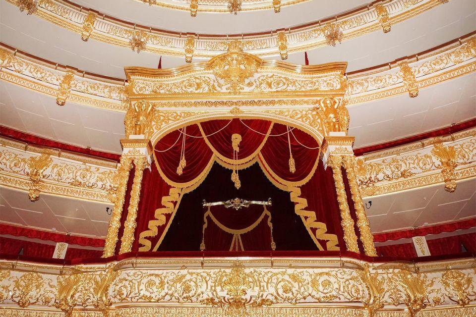Les loges refaites, Le Bolchoï : le Grand Théâtre, Les arts et la culture, Moscou, Moscou et le centre de la Russie