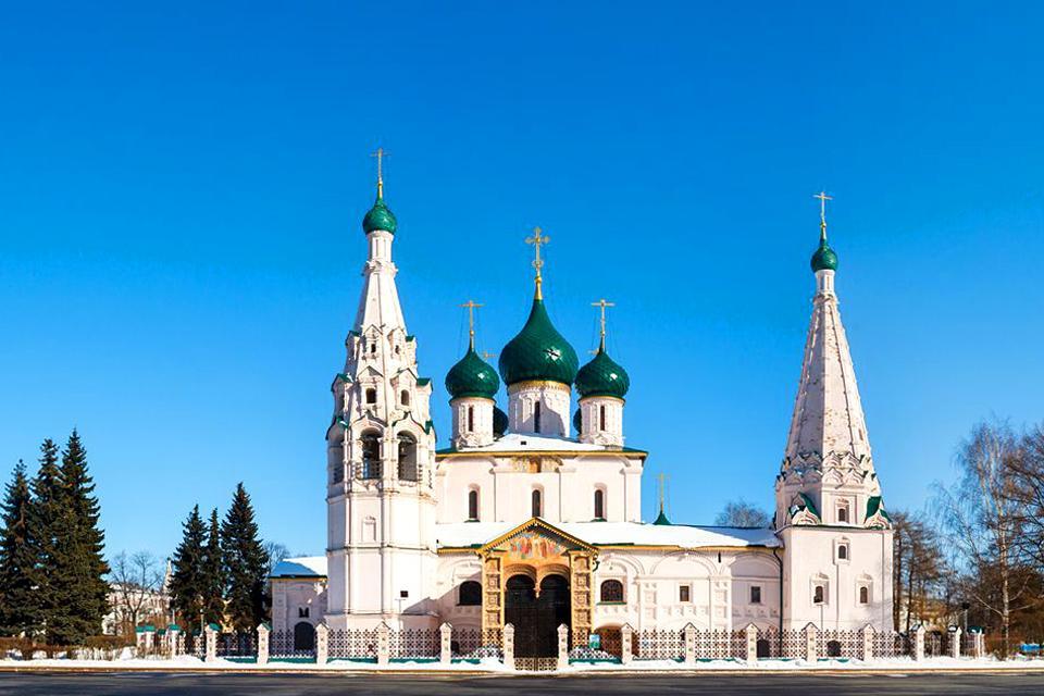 Yaroslavl et ses dômes d'or , Russie