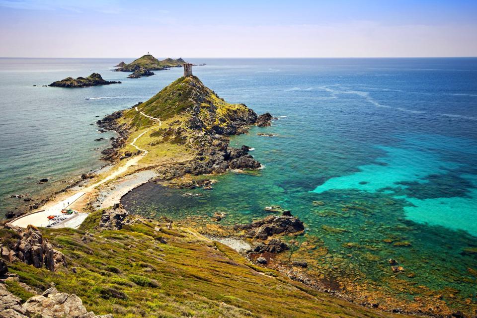 Les îles Sanguinaires , France