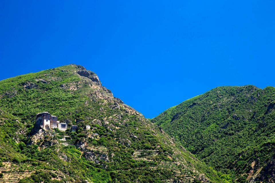 Le mont Athos , Grèce