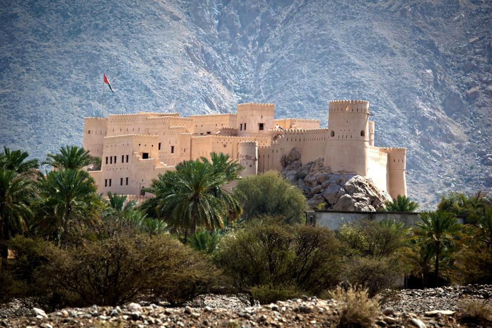 La route des forts , Sultanat d'Oman