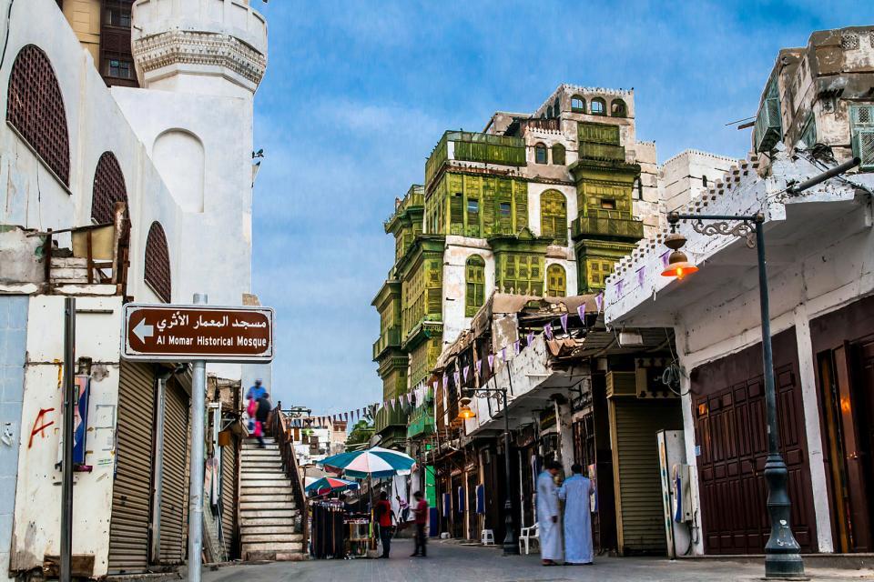 Le centre historique de Jeddah , Arabie saoudite