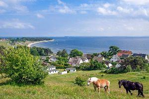 L'île de Rügen , Allemagne