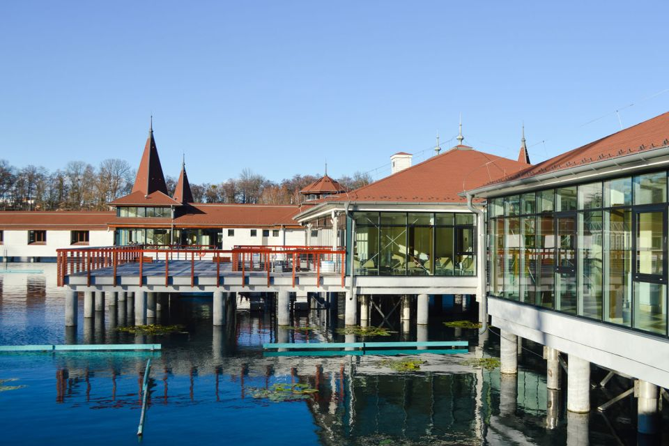 Les stations thermales, hongrie, europe, transdanubie, Heviz, Thermal Lake Resort, source, thermale, lac, spa, bain