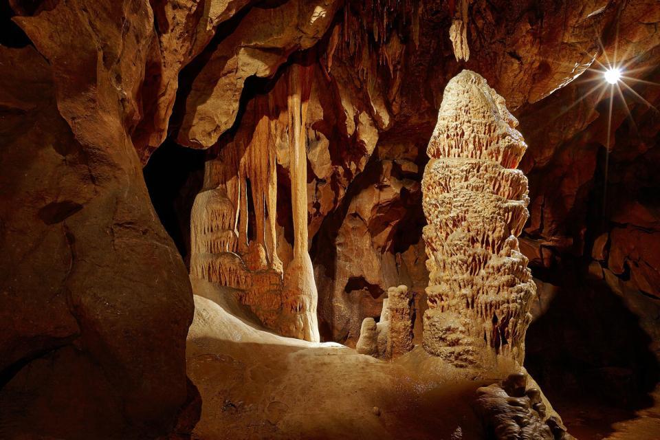 Les grottes d'Aggtelek , Hongrie